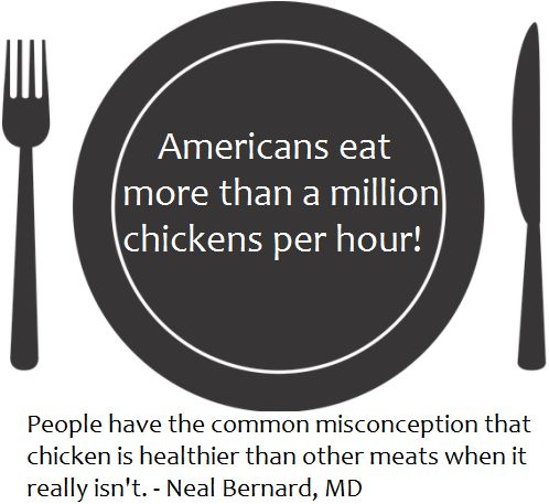 Common misconception about healthy food